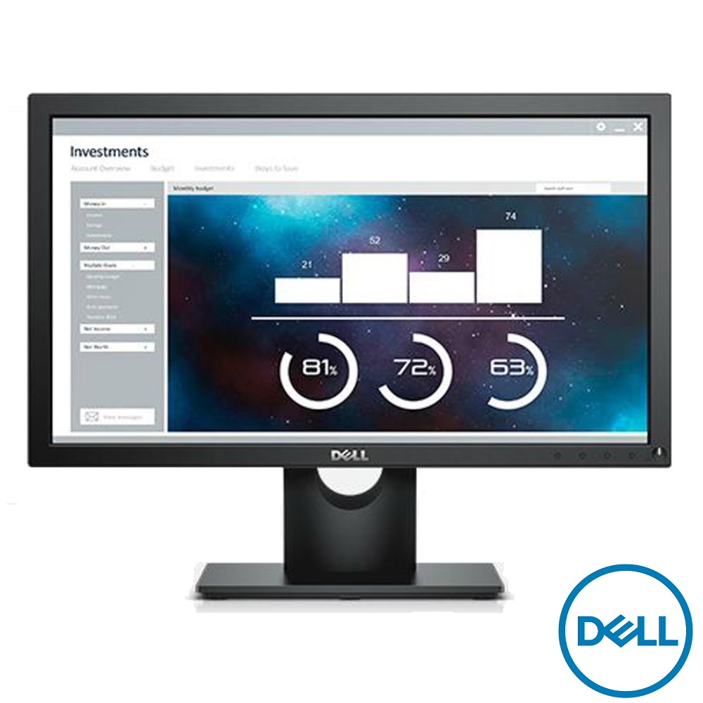 DELL E2016HV 20型 高效能電腦螢幕 限時降↘2350(原$2888)