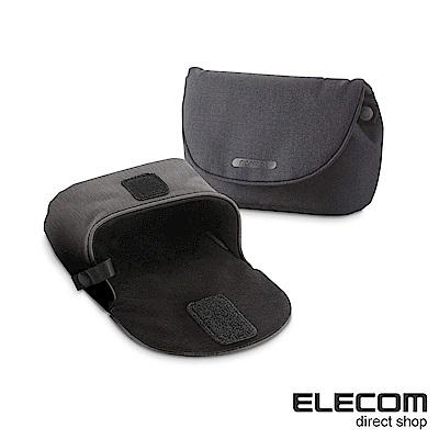 ELECOM normas絨布內裡相機收納包-黑
