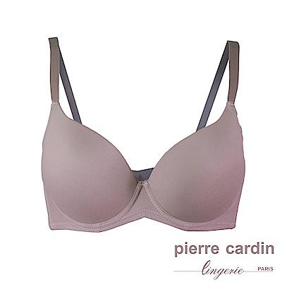 Pierre Cardin皮爾卡登 C罩 無痕高脅邊集中型內衣(GRY灰紫)