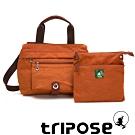 tripose 微旅系列輕旅機能後背斜背包 鮮橙橘