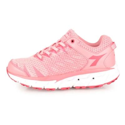 DIADORA 女 戶外越野跑鞋 莓紅