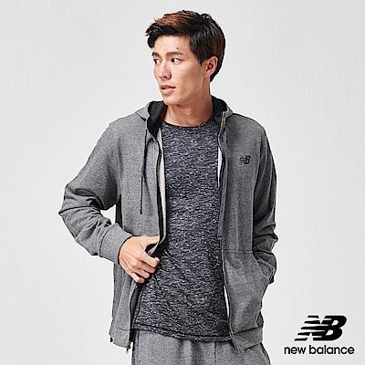 New Balance 連帽外套_AMJ91012BKH_男性_鐵灰