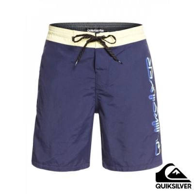 【Quiksilver】OMNI BEACHSHORT 18 衝浪休閒褲 海軍藍