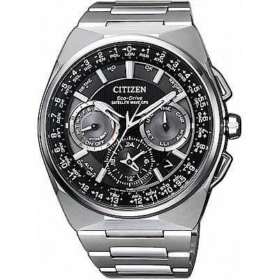 CITIZEN星辰 GPS定位對時光動能旗艦腕錶(CC9009-81E)-45mm