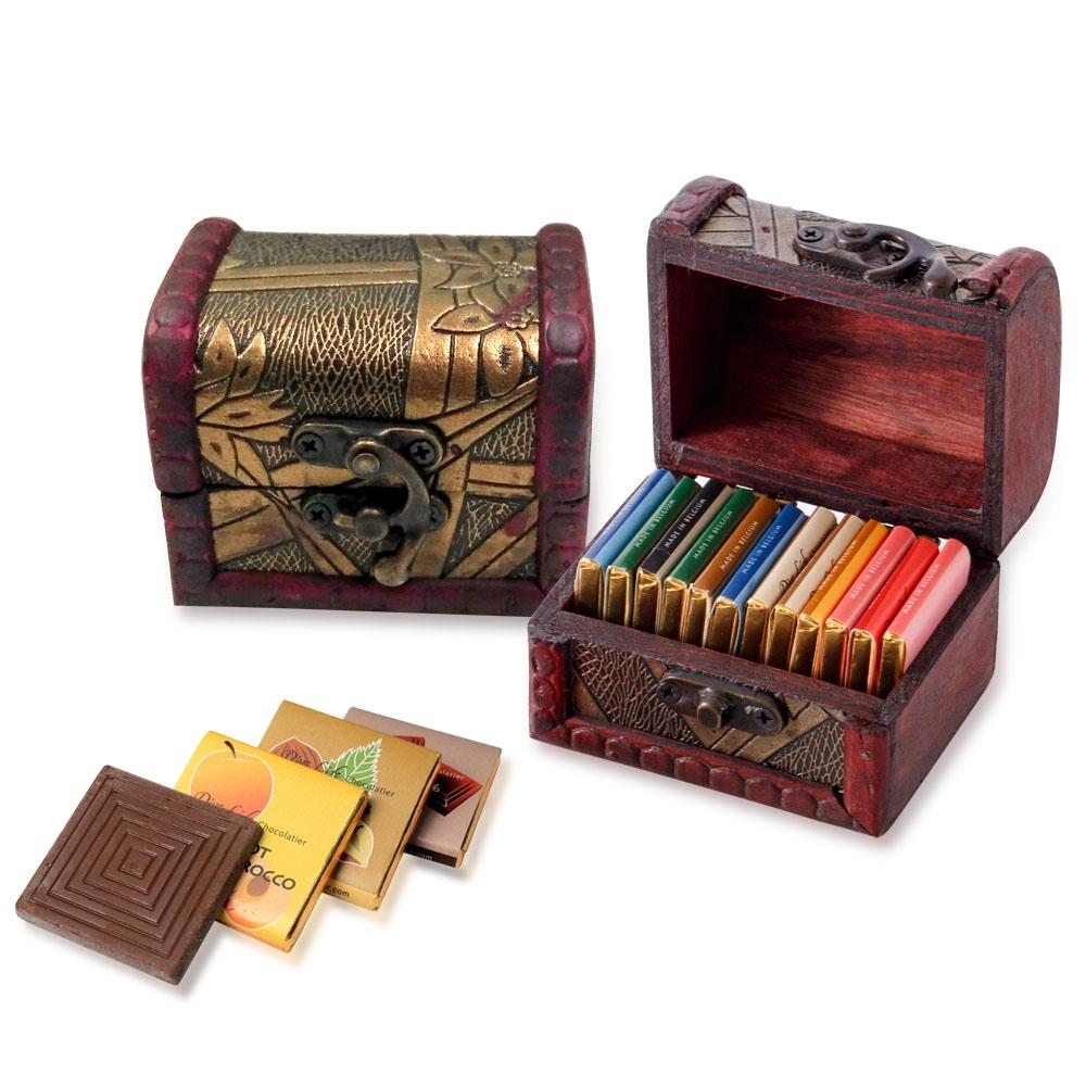 Diva Life 比利時巧克力15片(迷你珠寶盒-綜合)兩盒組