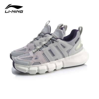 LI-NING 李寧 20悟道Infinite 時尚潮流休閒鞋-男 凝雪微晶灰 (AGBQ031-4)