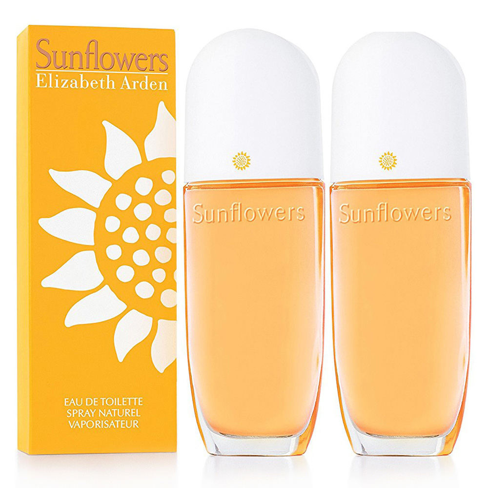 Elizabeth Arden雅頓 Sunflower 向日葵女性淡香水100ml(2入)