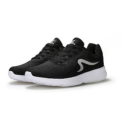 【ZEPRO】女子LIGHTRUN躍跑系列運動輕量跑鞋-經典黑