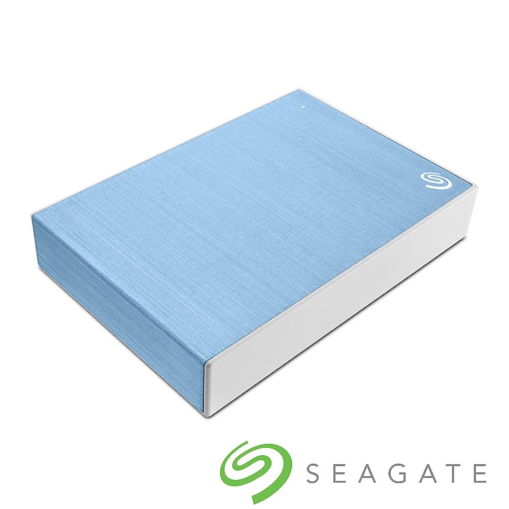 Seagate Backup Plus Portable 5TB 外接硬碟-冰川藍