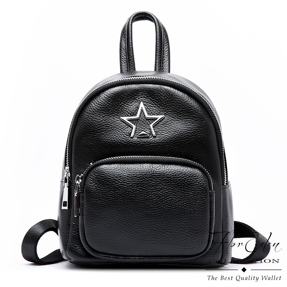 DF Flor Eden  - 首爾風潮閃耀星星小巧後背包
