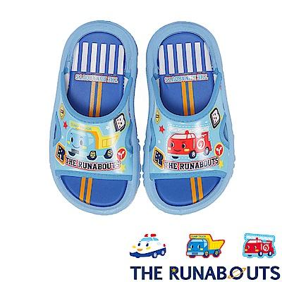 (雙11)THE RUNABOUTS 輕量休閒拖鞋童鞋-水