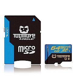 TOPMORE 64GB U3 A1 V30 microSDXC 記憶卡