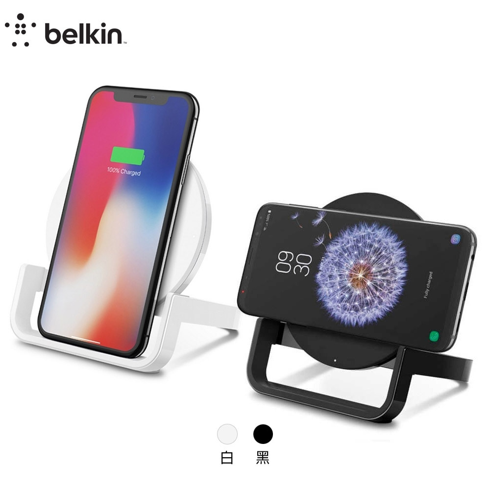 Belkin Boost Up 7.5W/10W 無線充電桌架-黑 product image 1