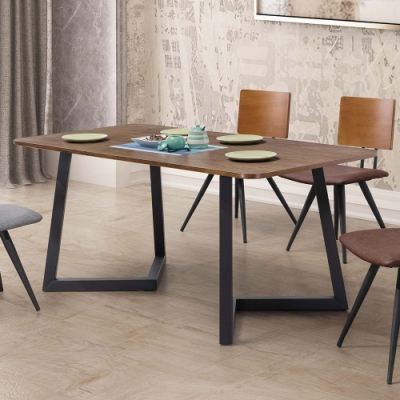 H&D 雷休工業風5.3尺餐桌