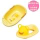 黃色小鴨《PiyoPiyo》豪華型沐浴盆+造型馬桶輔助便座(顏色隨機) product thumbnail 1