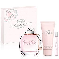 COACH 時尚經典女性淡香水禮盒-送品牌針管+紙袋