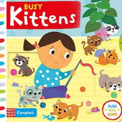 Busy kittens 忙碌的貓咪操作書
