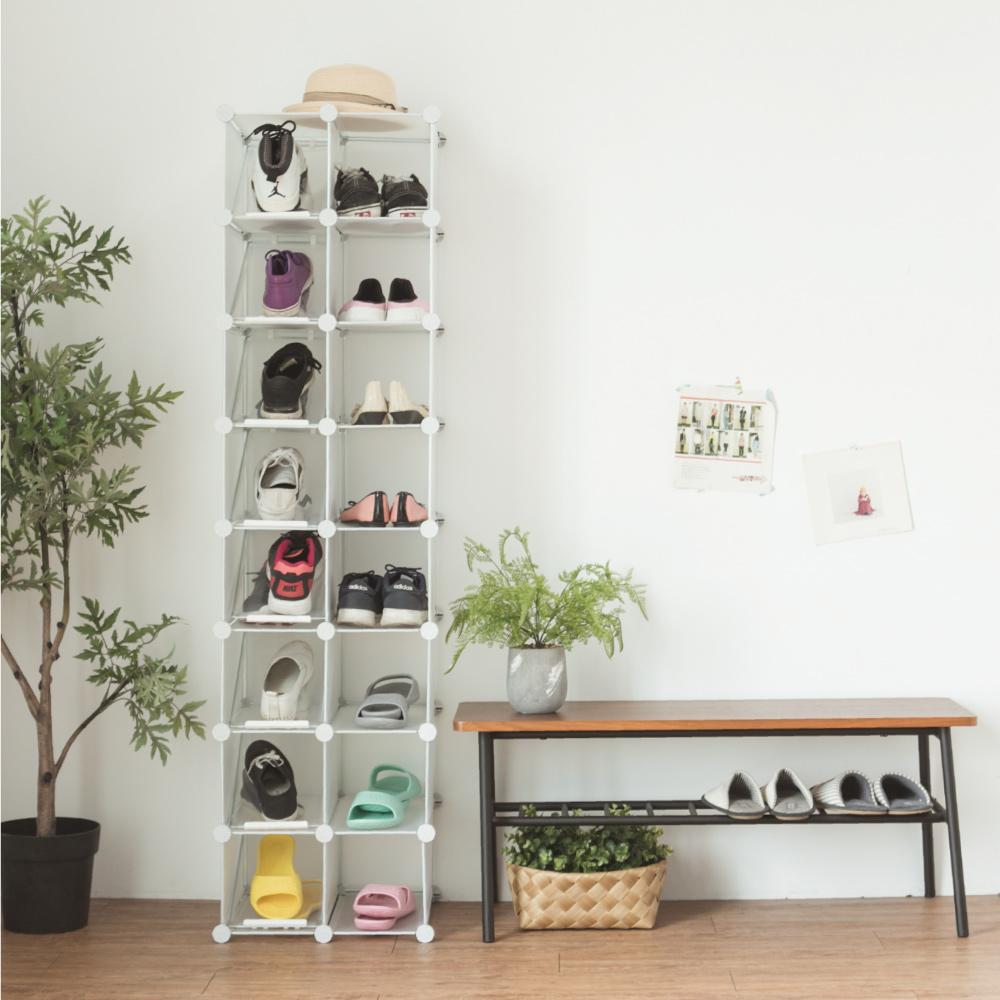 5折↘原價1399元 完美主義 16格鞋櫃/鞋架/收納櫃/魔術方塊