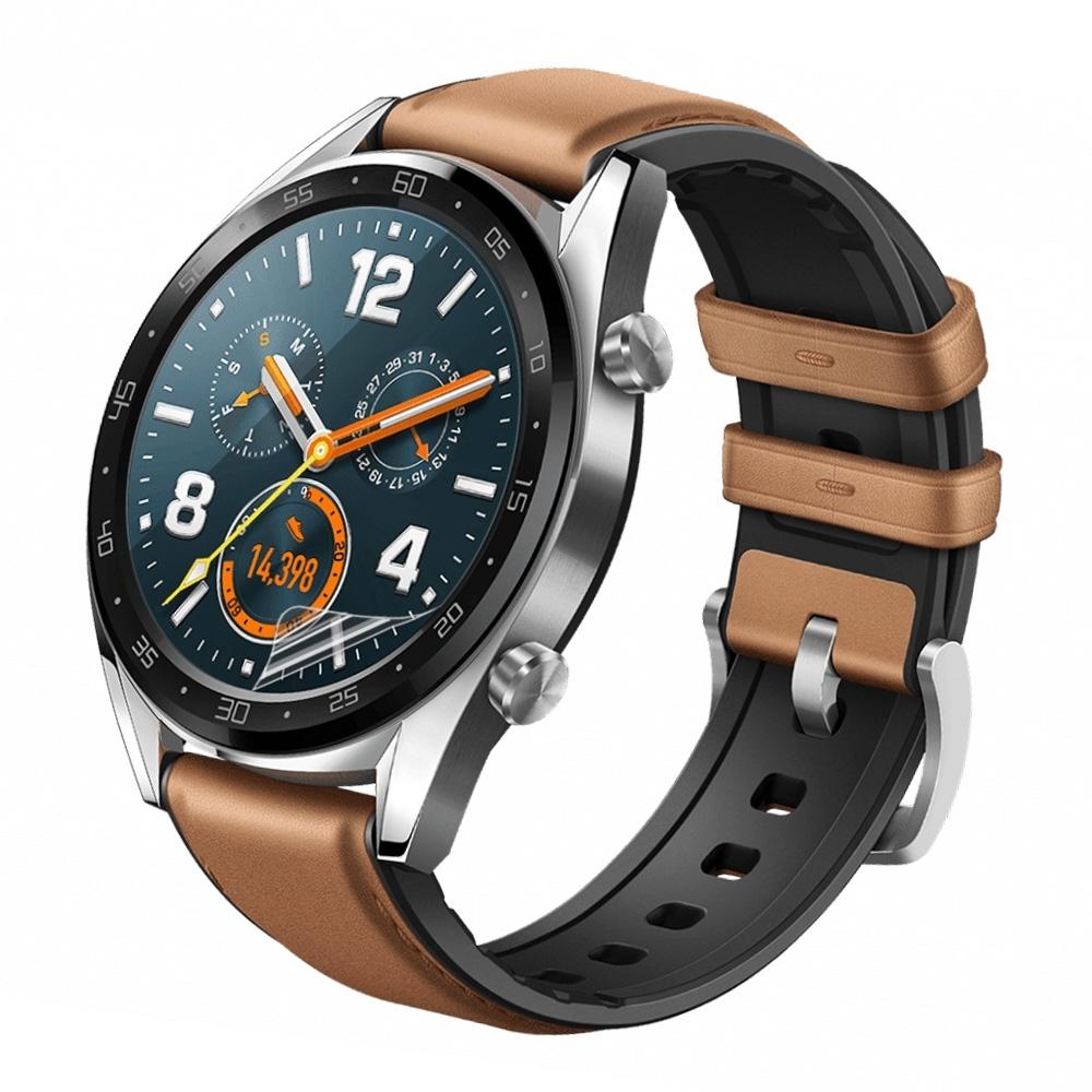 o-one小螢膜 華為HUAWEI GT watch 46mm手錶保護貼兩入組 犀牛皮防護膜 抗衝擊自動修復