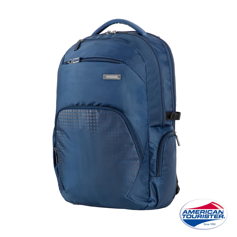 AT美國旅行者 Logix 豐富內裝收納型筆電後背包(藍)
