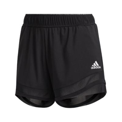adidas 短褲 Training Shorts 運動 女款 愛迪達 HEAT.RDY 健身 重訓 膝上 黑白 FT7008