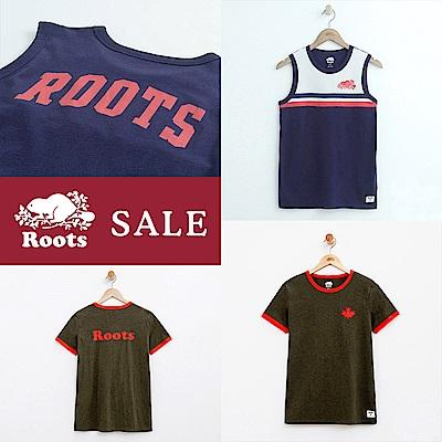 [時時樂限定]Roots -女裝-短袖上衣/背心兩款選