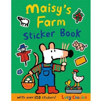 Maisy s Farm Sticker Book 波波的快樂農場貼紙書