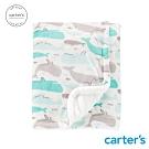 carter's台灣總代理 海洋海豚包巾