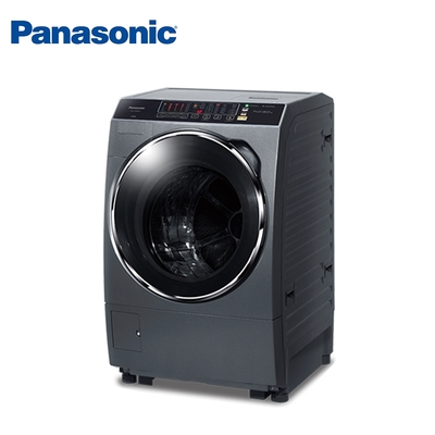 Panasonic國際牌 13公斤 洗脫烘變頻滾筒洗衣機 NA-V130DDH-G 晶燦銀