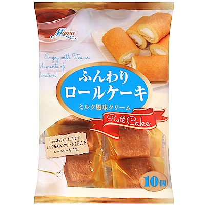 AMEHAMA 牛奶風味蛋糕捲(170g)