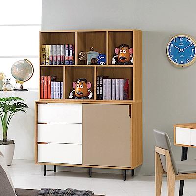 H&D 柯瑪4尺書櫃