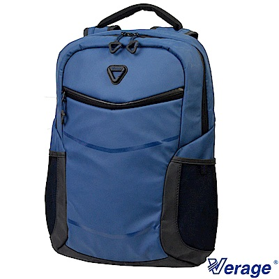 Verage ~維麗杰 RFID防盜時尚單層後背包(藍)