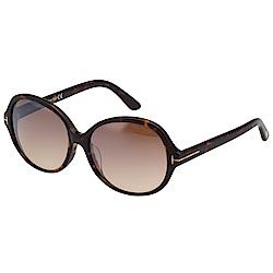 TOM FORD 復古 水銀面 太陽眼鏡(琥珀色)TF216