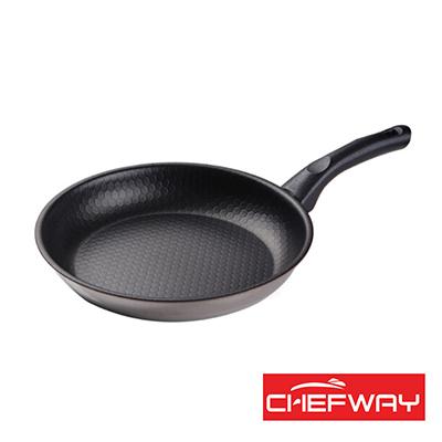 韓國 CHEFWAY 蜂巢式三層鋼不沾煎鍋-26cm