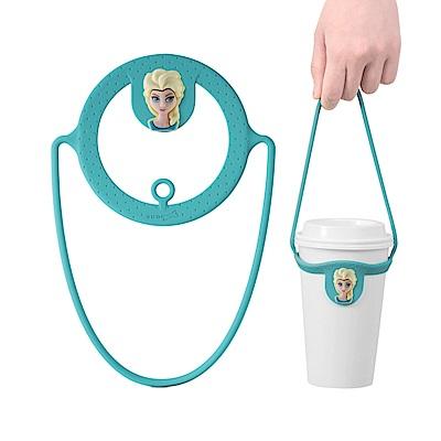 Bone Cup Tie 環保杯綁飲料杯提袋-冰雪奇緣(快)