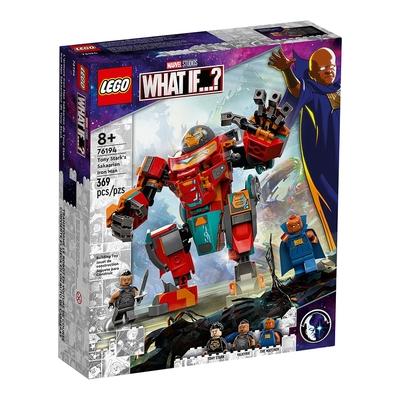 樂高LEGO 超級英雄系列 - LT76194 Tony Stark s Sakaarian Iron Man