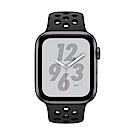 [無卡分期-12期] Apple Watch Nike+ S4 44mm灰鋁錶殼搭黑色錶帶