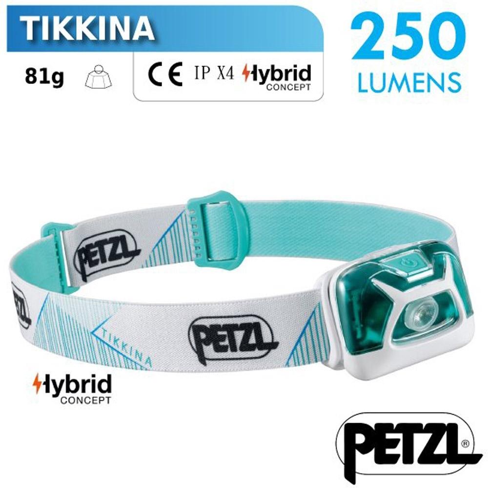 法國 Petzl TIKKINA 超輕量戶外頭燈(250流明)_綠