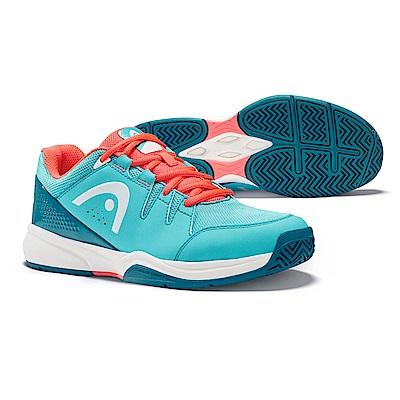 HEAD Brazer系列 女網球鞋/休閒鞋/運動鞋-藍/珊瑚紅 274408