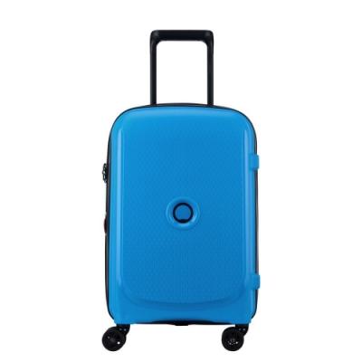 【DELSEY】BELMONT PLUS-19吋旅行箱-金屬藍 00386180422