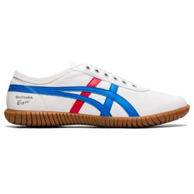 Onitsuka Tiger鬼塚虎- TSUNAHIKI SLIP-ON 休閒鞋 1183B452-103 白底紅藍邊
