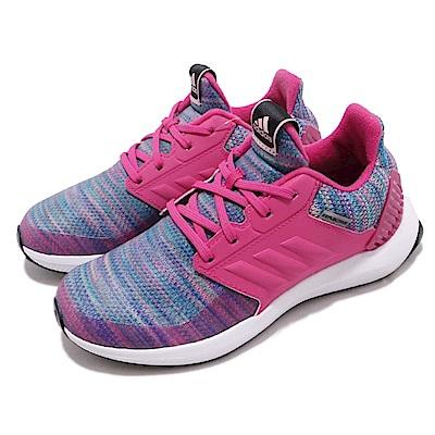 adidas 慢跑鞋 RapidaRun BTW 運動 童鞋