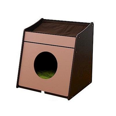 Bonbi 兩用系統單層貓櫃 (附軟墊) 貓跳台