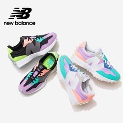 【New Balance】 復古鞋炫彩327系列_女性2款_WS327PA/
