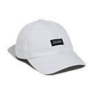 基本款LOGO棒球老帽-率性白