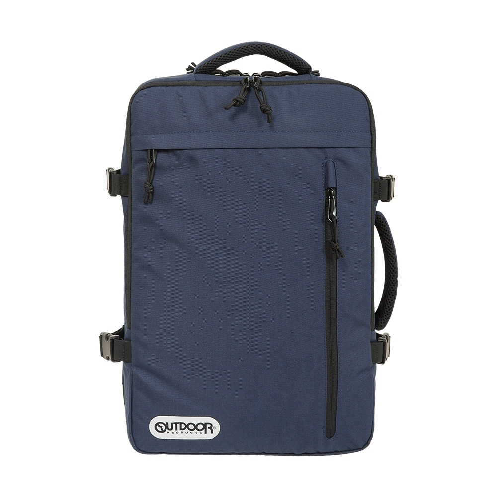 【OUTDOOR】悠遊寰旅-17吋筆電後背包-深藍色 OD101132NY