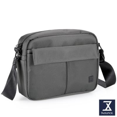 74盎司 U系列 單層雙口袋側背包[G-1041-U-M]灰