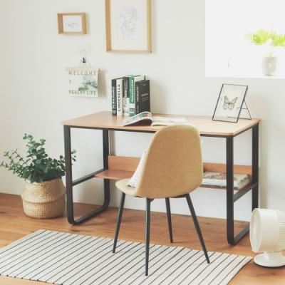 完美主義 質感木紋工作桌/電腦桌/書桌/辦公桌(2色)