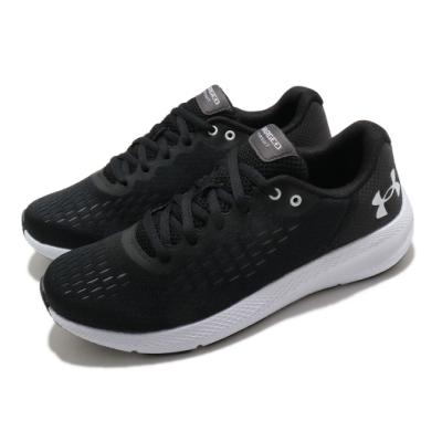 UA 慢跑鞋 Charged Pursuit 2 女鞋 輕量 透氣 舒適 避震 路跑 健身 黑 白 3023866002