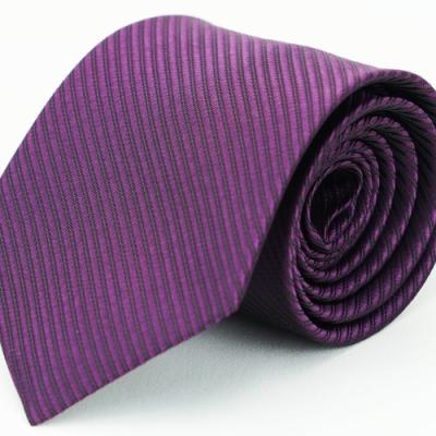 Alpaca 深紫色斜紋領帶
